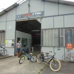 Un vélociste à Château-du-Loir